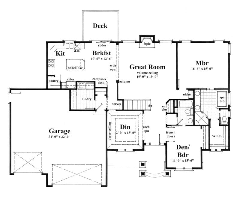 johnson home plan